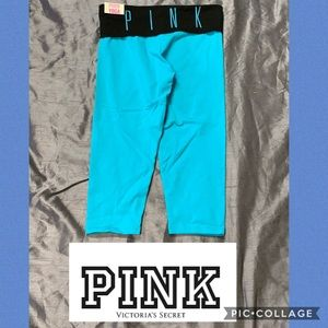 Victoria's Secret PINK cropped yoga pants small